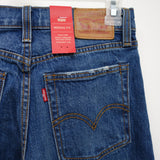 Levi's Womens Wedgie Fit Distressed Cut Off Ankle Crop Denim Jeans Size 26 x 26