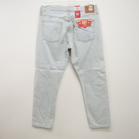 Levi's 501 0032 T Taper Womens Button Fly Denim Jeans Size 30 x 28