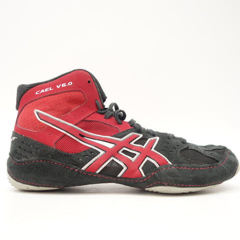 Asics Men's Red Cael V6.0 Wrestling Shoes US 6.5 EU 37.5