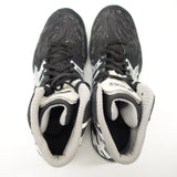 ASICS SPLIT SECOND Black Gray Matflex Wrestling Shoes J203J US 8 EU 39.5