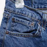 Levi's Mens 505 1765 Regular Fit Straight Leg Medium Denim Jeans 33 x 34