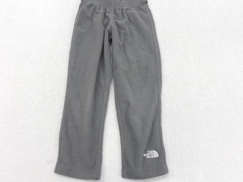 The North Face Boys Gray Fleece Elastic Waist Pull On Sweat Pants Size 5 - Designer-Find Warehouse - 1