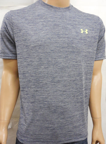 Under Armour Compression Heatgear Tech Casual Crewneck Tee T-Shirt M - Designer-Find Warehouse - 1