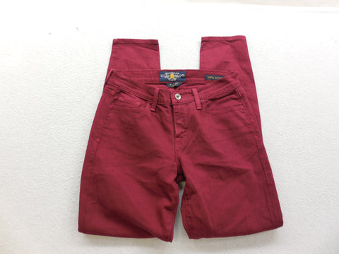 Lucky Brand Womens Velvet Cherry Slim Skinny Denim Jeans Size 4/27 - Designer-Find Warehouse - 1