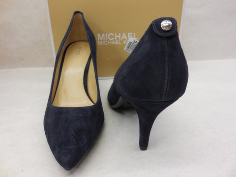 89499e02270 ... MICHAEL Michael Kors Navy Mid Flex Pumps High Heels Size 11 -  Designer-Find Warehouse ...