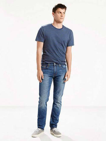 Levi's Mens 511 1163 Slim Fit Dark Blue Wash Fashion Denim Jeans Size 31 x 32