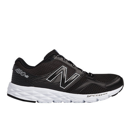 New Balance Mens Athletic Black 490V3 Running Training Shoes Size 11 - Designer-Find Warehouse - 1
