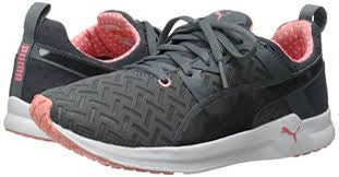 Puma Womens Gray Pulse XT Pwrcool Running Cross Training Sneakers Shoes 9 - Designer-Find Warehouse - 1