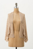 Anthropologie Tan 88 Hammock Cardigan Sweater Size Medium