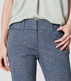 Ann Taylor LOFT Flecked Riviera Cropped Pants In Marisa Fit Size 2 Petite - Designer-Find Warehouse - 3