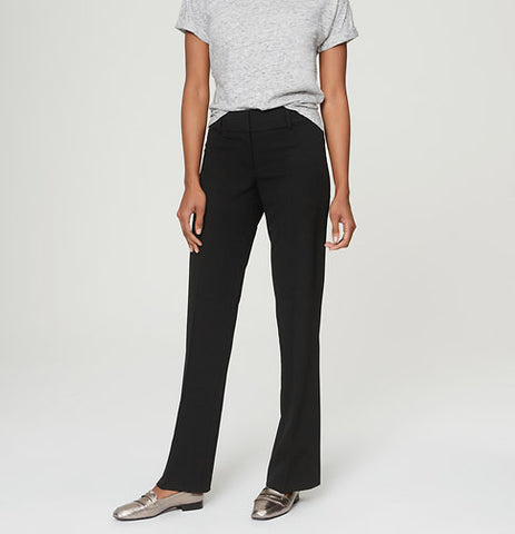 Ann Taylor LOFT Black Essential Skinny Ankle Pants in Julie Fit Size 2 - Designer-Find Warehouse