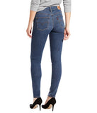 Levi's Womens Slimming Skinny Medium Blue Denim Jeans Size 10L / 30 x 32