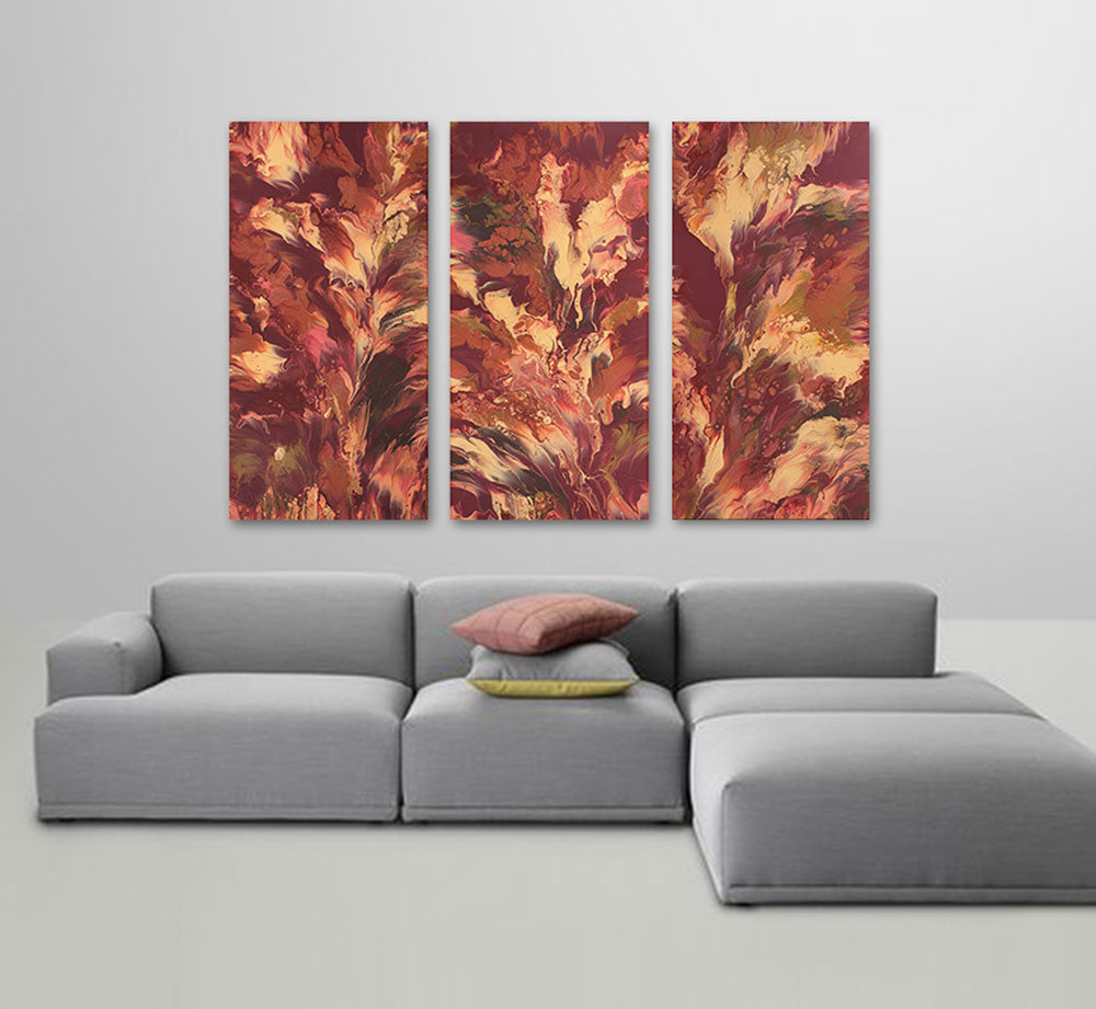 "Cassandra Tondro, ""Passion Trilogy,"" contemporary painting"