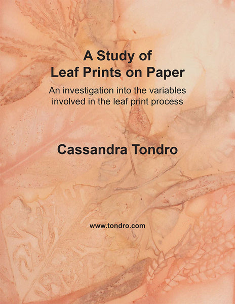 Leaf Print Tests on Paper Tutorial