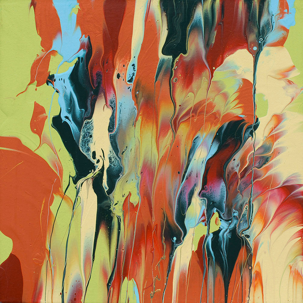 "Cassandra Tondro, abstract painting, ""Rooted,"" contemporary art"