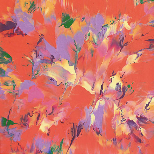"Cassandra Tondro ""Spring Fling"" abstract art"