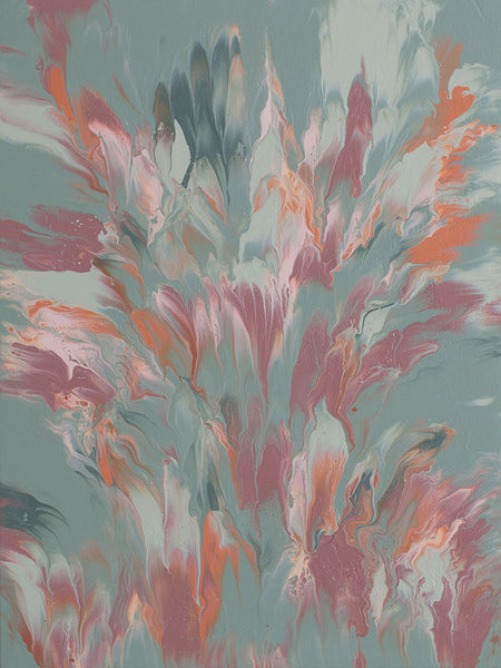 "Cassandra Tondro, ""Sagebrush,"" abstract art"