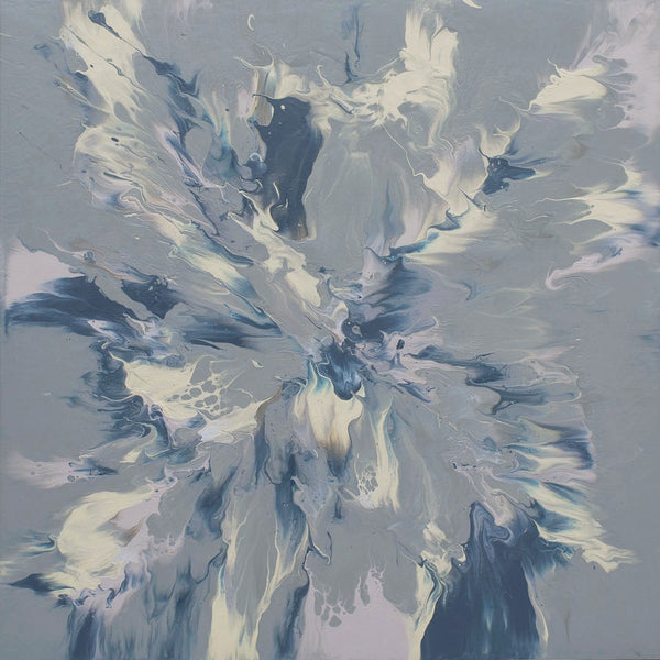 "Cassandra Tondro, ""Winter Solstice,"" abstract art"