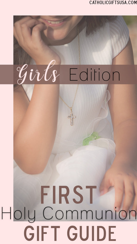 Girl's First Holy Communion Gift Guide