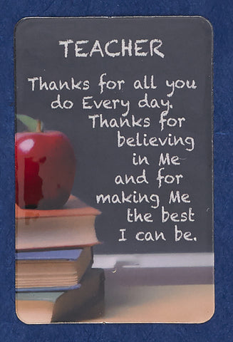 Teacher Pocket Card
