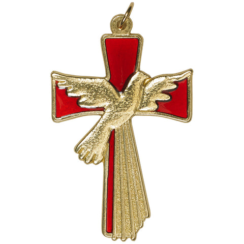 Gold Tone- Holy Spirit Cross