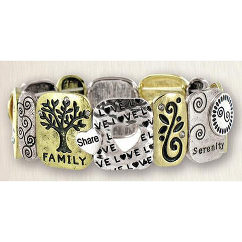 Family Stretch Bracelet