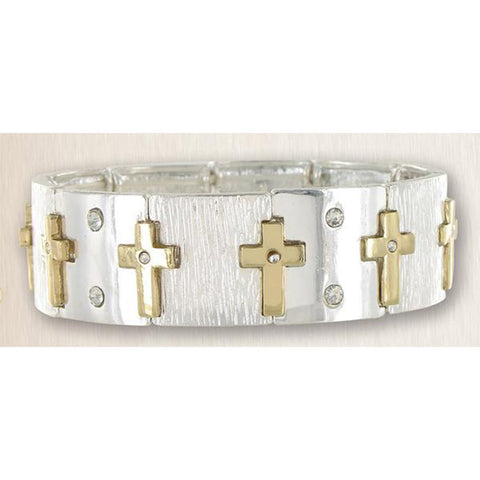 Cross Stretch Bracelet