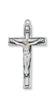Traditional Sterling Silver Crucifix
