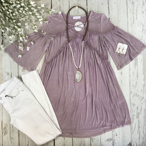 Sweet Memories Mauve Tunic
