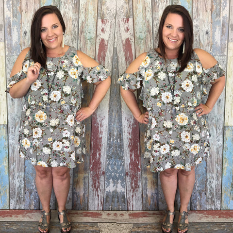 Plus Wild Honey Dress