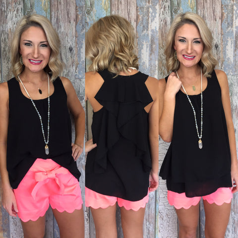 Classy N Sassy Top and Sally Scalloped Shorts