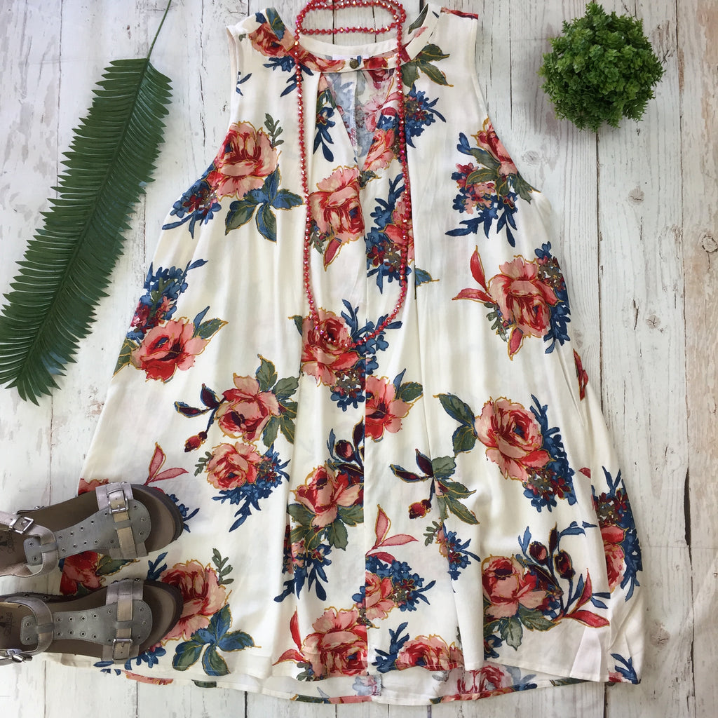 + Brought Me Here Floral Tunic