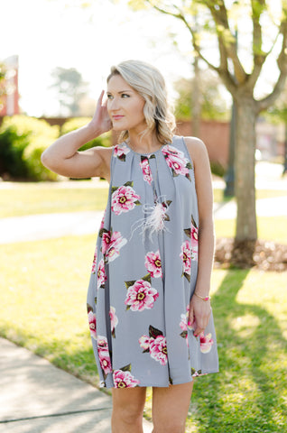 Fresh Bouquet Floral Dress