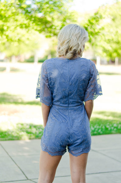 Visions of Lace Romper