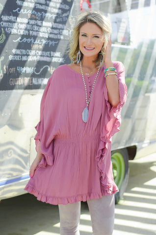 Love Your Life Dolman Tunic