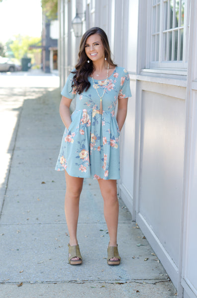 Fabulous Flowers Floral Dress
