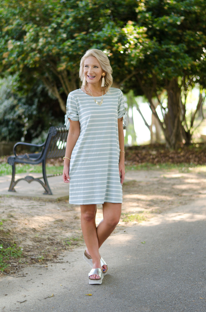 Stand Up for Stripes Dress