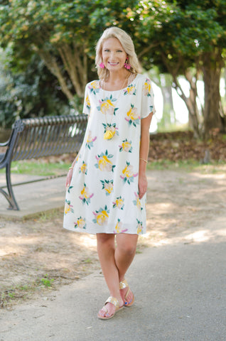 Light & Lovely Floral Dress