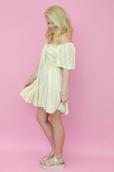 Mimosa Morning Striped Tunic