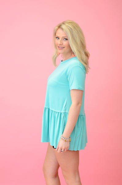 Delightful Days Babydoll Top