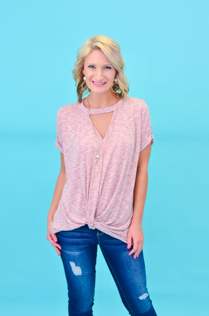 Casual Cutie Twist Top