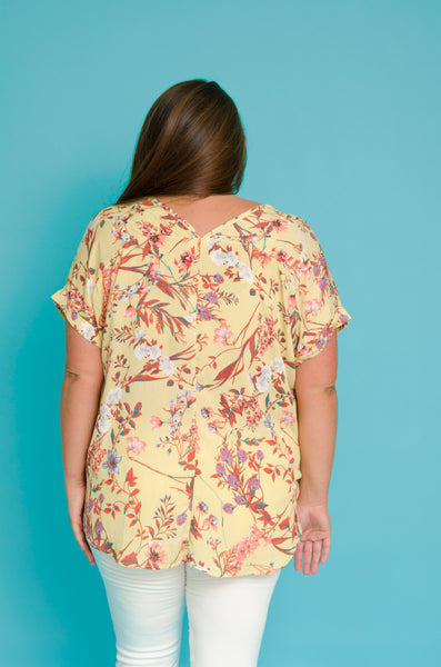 + Whisk Me Away Floral Top