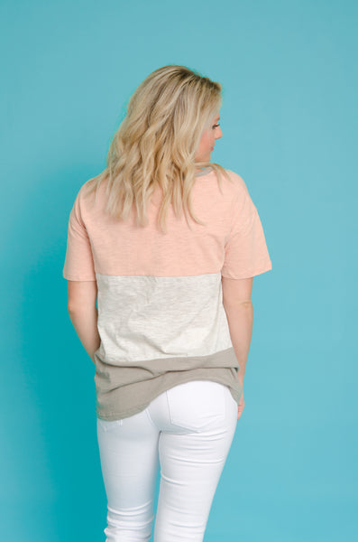 Daring Dreams Color Block Top