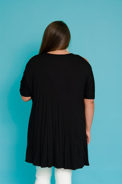 Comfy Saturday High Low Tunic