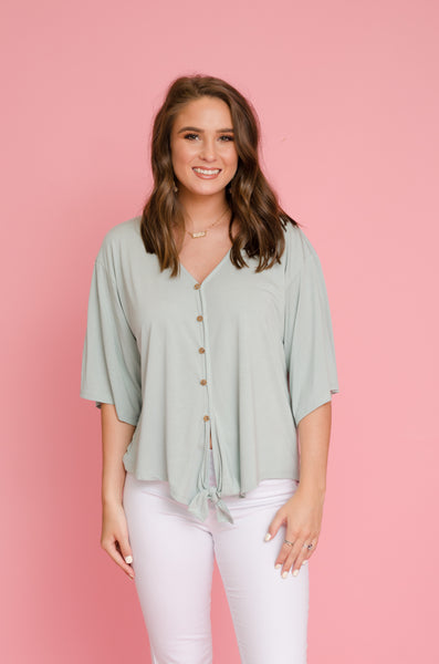 Chic as Can Be Tie Top