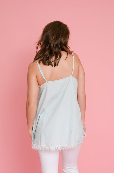 Fray All Day Chambray Tank