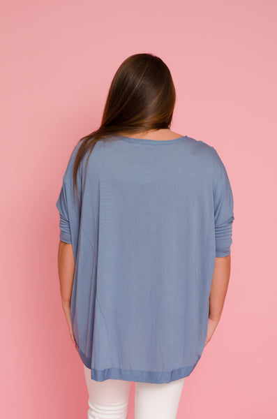 Cured By Comfort Dolman Top