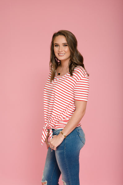 Daytime Delight Striped Top