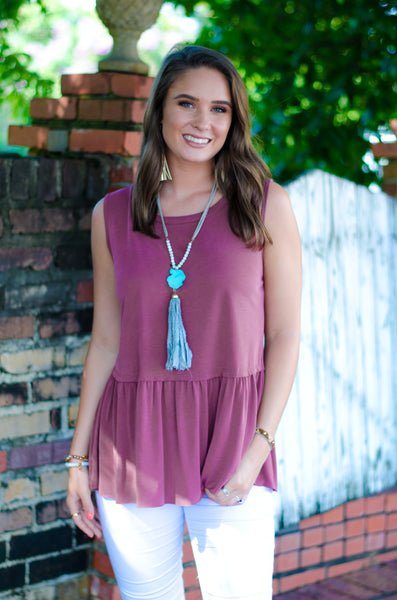Southern Saturday Babydoll Tank