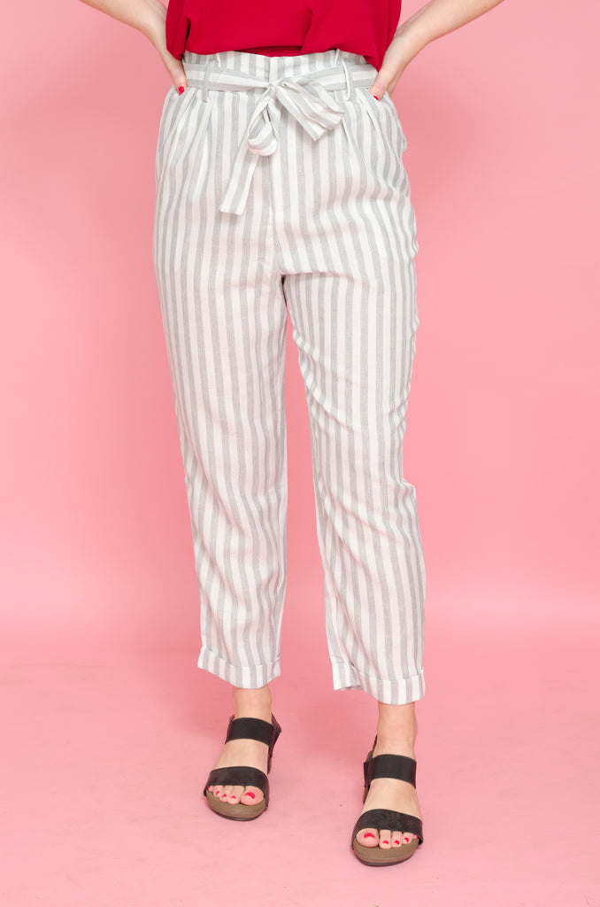 Full Schedule Striped Pants